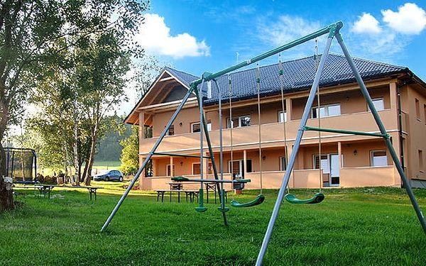 4 nebo 6denní pobyt v apartmánech Nad Rybníky u Lipna pro 2–8 osob