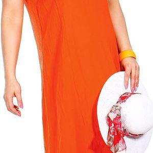 ELIMA paprsky - šaty bez rukávů 120 cm