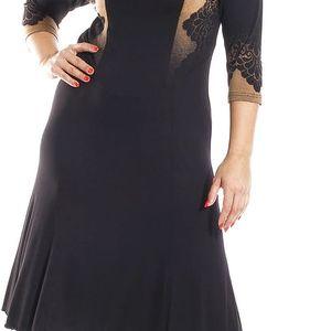 MIRIAM - šaty 3/4 rukáv 110 - 115 cm