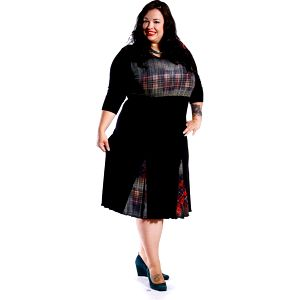 GIZELA - šaty 3/4 rukáv 95 - 100 cm