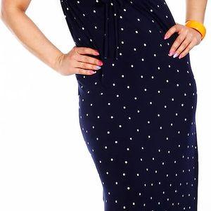 MARKÉTA - dlouhé šaty boční délka 95 - 100 cm