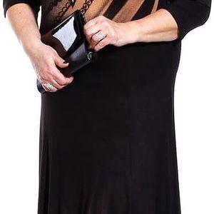 TRENDY - šaty 3/4 rukáv 110 - 115 cm