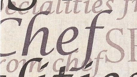 Utěrka SPECIAL CHEF, 100% bavlna, hnědá, 45x65 cm Essex