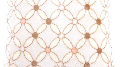 Polštář HAMILTON Essex 40x40cm, smetanová, mikrovlákno geometrický vzor Varianta: Povlak na polštář, 40x40 cm