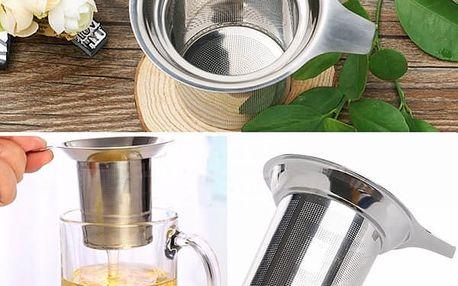 Kovové sítko na sypaný čaj