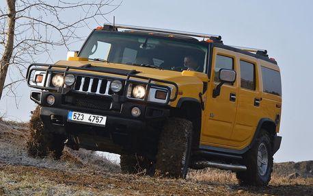 Jízda autem Hummer H2 v Praze