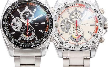 Stylové analogové hodinky - 2 barvy