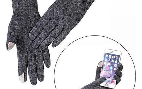 Dámské rukavice na dotykový displej - 4 barvy