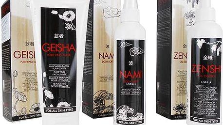 Olejová esence, tělové mléko nebo čistící pleťová maska