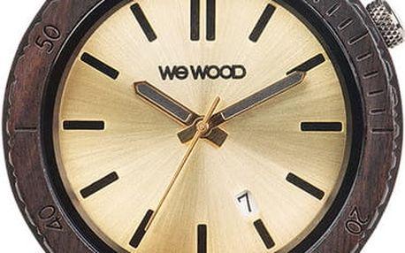 Dřevěné hodinky WeWood Arrow Black Gold - doprava zdarma!