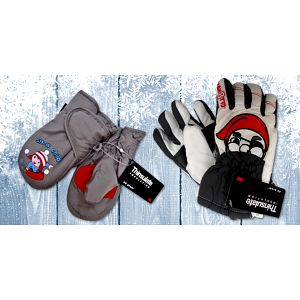 Pro malé Eskymáky: Zimní rukavice Mess