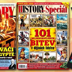 Předplatné časopisu HISTORY REVUE s bonusy