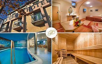 2 noci pro 2 osoby v komfortním Grand Hotelu Třebíč **** s polopenzí a bazénem