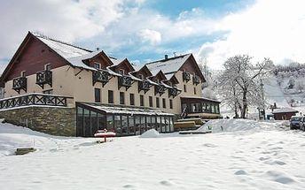 Neomezený vstup do wellness a polopenze pro dva v Hotelu Kempa*** přímo u lyžařského svahu