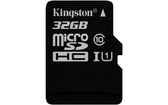 Kingston MicroSDHC 32GB UHS-I U1 (45MB/s) (SDC10G2/32GBSP)