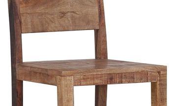 Židle Industry, přírodní barva 45/100/52 cm