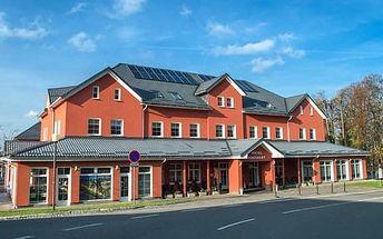 Zimní pobyt v Hotelu Hukvaldy pro 2 osoby s polopenzí, saunou a neomezeným vstupem do wellness s vířivkou a bazénem