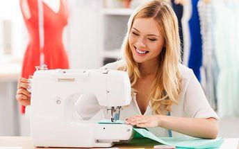 Kreativní kurz šití: 10 hodin šitých na míru