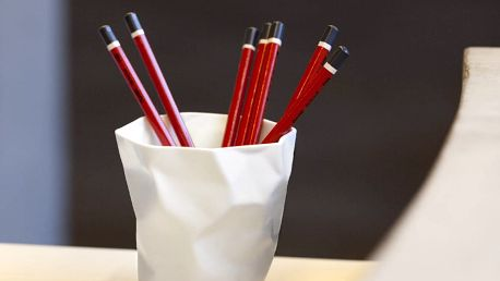 Kalíšek na tužky Essey Pen Pen White