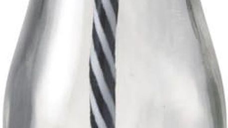 Skleněná lahev s brčkem Bottle Milk