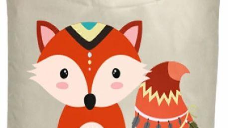 Koš na prádlo Tribal Fox