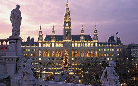 Adventní Vídeň a výhodné nákupy v superlevném Primarku pro JEDNOHO
