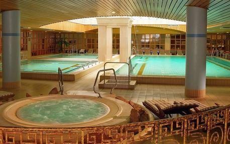 4 dny s neomezeným termálním wellness přímo v hotelu Aquincum*****