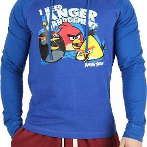 Pánská mikina/tričko s kapucí Angry Birds vel. XL