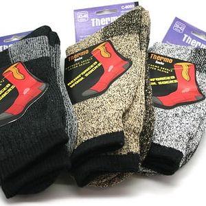 Pánské vlněné termo ponožky Steeve - VÝPRODEJ