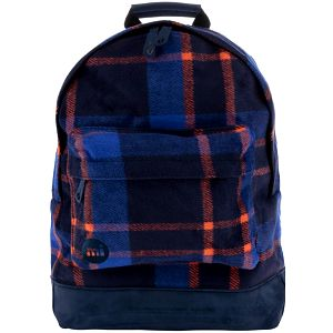 Oranžovo-modrý dámský batoh Mi-Pac Picnic Check