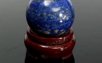 Lapis lazuli - koule na podstavci