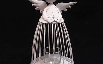 Svícen s andělem Dakls - doprava zdarma!