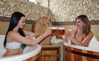 Slovensko, Malá Fatra až na 5 dní pro dva ve 4* hotelu: polopenze, wellness, pivní koupel