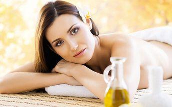Podzimní klasická masáž s peelingem a zábalem