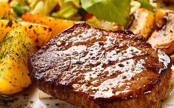 Šťavnaté steaky z krkovice s přílohou pro dva