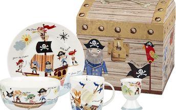 Dětský set nádobí Churchill China Pirates (4 ks) - doprava zdarma!