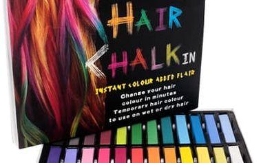 Barevné křídy na vlasy!! Změňte svůj vzhled!!