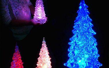 Vánoční dekorace - Svíticí stromeček
