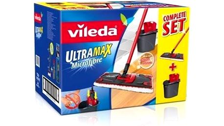 Mop sada Vileda Ultramax set box (140910) Prací prostředek Persil Expert Compact Lavender Freshness 20 praní