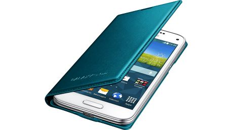 Samsung flipové pouzdro EF-FG800B pro Galaxy S5 mini, zelená - EF-FG800BGEGWW