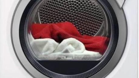 Sušička prádla AEG AbsoluteCare® T8DEE48SC bílá + Doprava zdarma