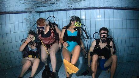 Vyzkoušej si ponor s přístrojem