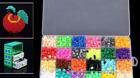 Sada barevných nažehlovacích korálků