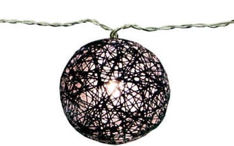 Svítící dekorace Best Season Jolly Lights Black - doprava zdarma!