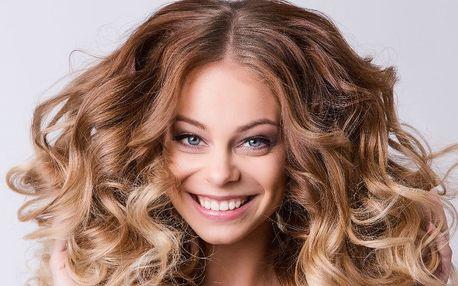 Konturování vlasů se střihem a stylingem vlasů