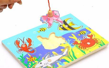 Dětská vzdělávací hračka - rybaření