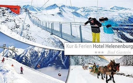 """""""Ski Paradise"""" pro lyžaře v jednom z Top středisek v Alpách s ubytováním v hotelu Helenenburg"""