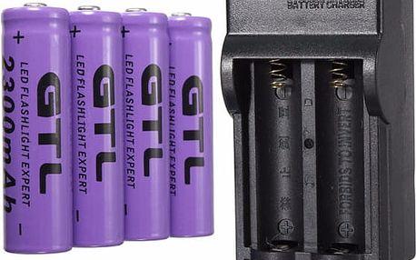 Dobíjecí baterie s nabíječkou