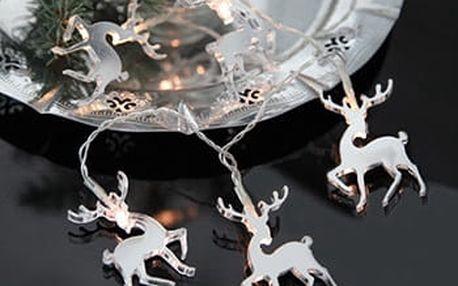 Svítící řetěz Best Season Mirror Reindeers - doprava zdarma!