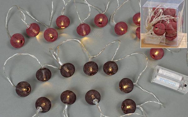 Sada 2 svítících řetězů Boltze Chains, 135 cm - doprava zdarma!